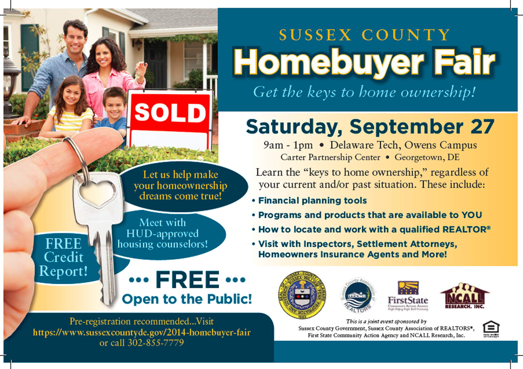 Sussex County Homebuyer Fair
